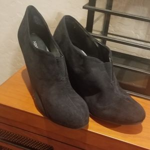 Nine Co Black Booties